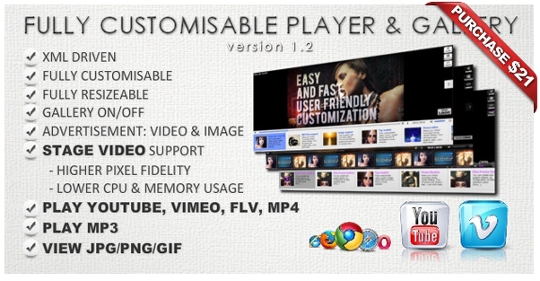 Ultimate Player with YouTube, Vimeo, Ads WP Plugin - 17