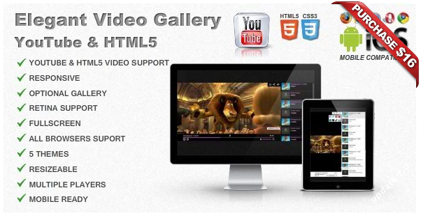 Ultimate Player with YouTube, Vimeo, Ads WP Plugin - 12