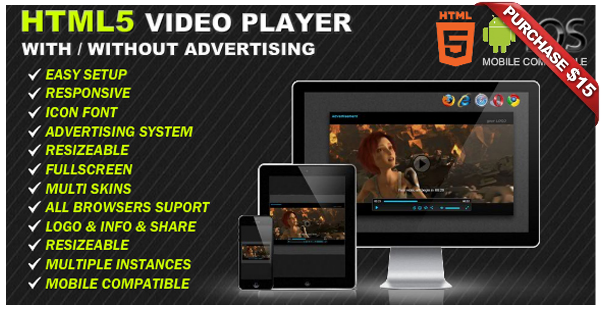 Ultimate Player with YouTube, Vimeo, Ads WP Plugin - 15