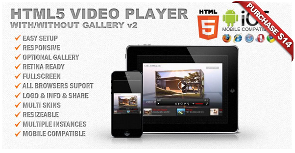 Ultimate Player with YouTube, Vimeo, Ads WP Plugin - 13