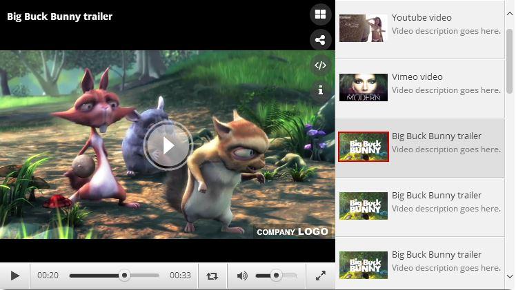 Ultra Video Player - HTML5/YouTube/Vimeo/Ads