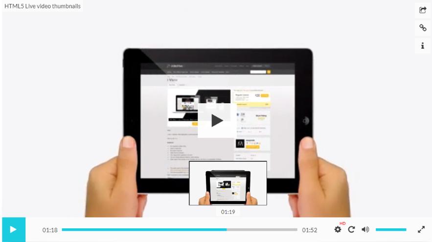 HTML5-Live-video-thumbnails